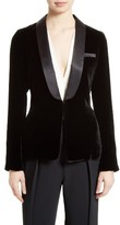 Elizabeth and James Women's Ambrose Velvet Tuxedo Jacket