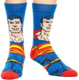 Bioworld Superman Face Men's Crew Socks