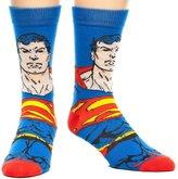 Bioworld Superman Face Men's Crew Socks