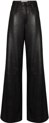 Natasha Zinko High-Waisted Wide-Leg Trousers