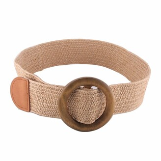 Linea Pelle Straw Stretch Belt