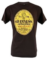 Guinness Distressed Label T Shirt (XLarge)