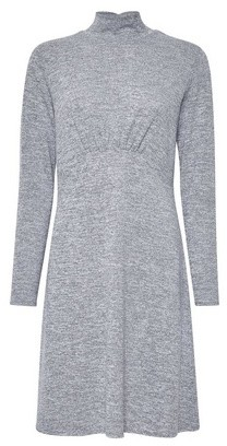 Dorothy Perkins Womens Grey Empire Line Cut And Sew Dress, Grey