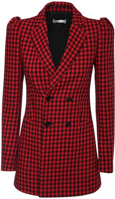 RED Valentino Cotton Blend Double Breast Jacket