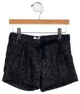 Il Gufo Girls' Wool Mini Shorts w/ Tags