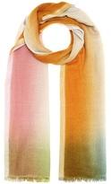 Loro Piana Stola Summer Sunset cashmere and silk scarf