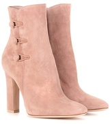 Gianvito Rossi Savoie suede ankle boots