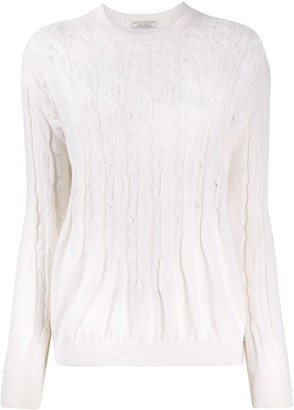 Nina Ricci Cable-Knit Jumper