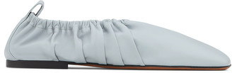 Neous 5mm Phinia Pleated Napa Ballet Flats