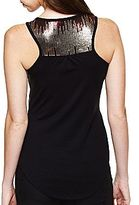 JCPenney Bisou Bisou® Sequin Tank Top