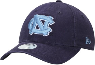 New Era Women's Navy North Carolina Tar Heels Team Core Classic Twill 9TWENTY Adjustable Hat