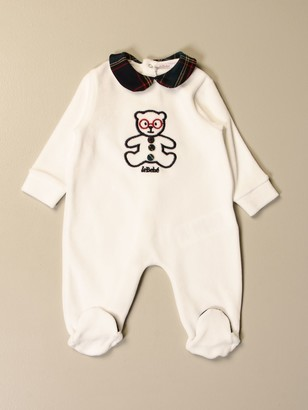 Le Bebé Le Bebegrave; Footed Romper With Bear