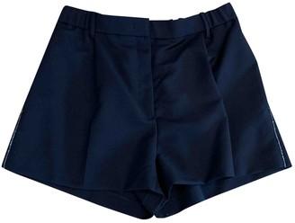 N°21 N21 Black Wool Shorts for Women