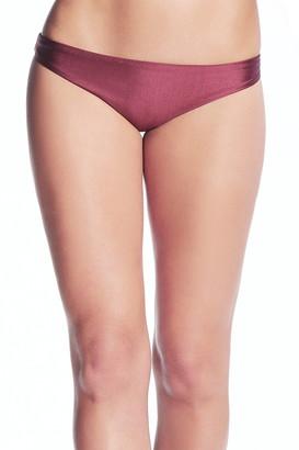Maaji Beach Plumb Flirt Reversible Cheeky Cut Bikini Bottoms
