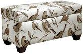 Skyline Storage Bench, Birdwatcher Charcoal - Birdwatcher Charcoal - Bench