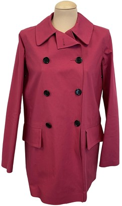 Louis Vuitton Pink Cotton Trench Coat for Women