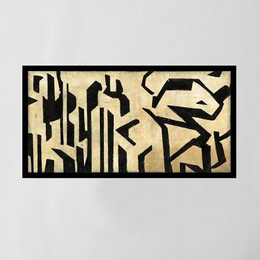 west elm Framed Print - Future Words