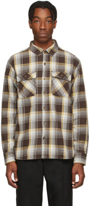 Neighborhood Brown Flannel Cabella Shirt