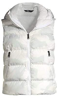 The North Face Women's Hyalite Camouflage Down Hoodie Vest