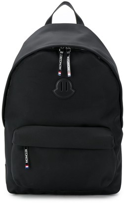 Moncler Pierrick logo backpack