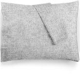 Bar III Cross Hatch Pair of Standard Pillowcases