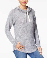 Ultra Flirt Juniors' Funnel-Neck Sweatshirt