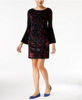 ECI Velvet Shift Dress