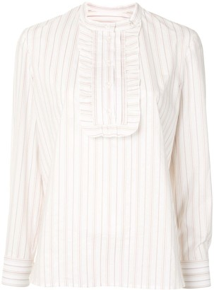 A.P.C. Madeline jacquard stripe blouse
