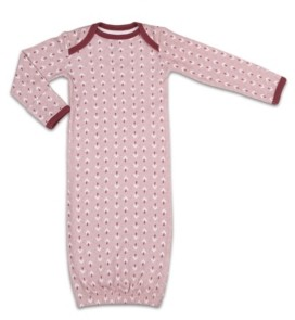 The Peanut Shell The Baby Girls Happy Hippie Sleep Gown