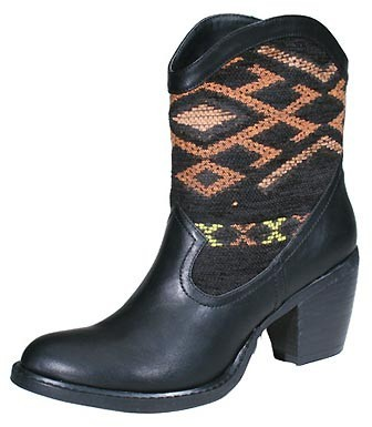 Wanted Shoes Tejas Boot in Black-SALE!!