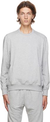 Ermenegildo Zegna Grey Basic Chic Sweatshirt