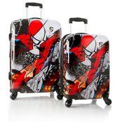 Heys Marvel® Spider-Man 2-Piece Upright Spinner Luggage Set in Black/Red