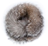 Agnona fox fur collar