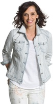 Chico's Light Wash Denim Jacket