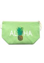 Soha Living Aloha Pineapple Cosmetic Bag