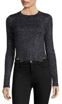 KENDALL + KYLIE Cropped Ribbed Sweater