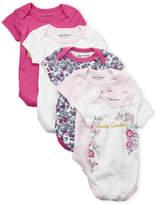 Juicy Couture Newborn Girls) 5-Pack Bodysuits