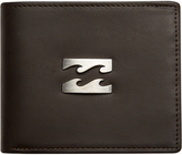 Billabong Radius 2 In 1 Leather Wallet Brown