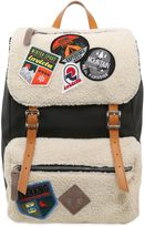 Invicta My Jolly Canvas Backpack W/ Patches