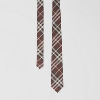 Burberry Classic Cut Vintage Check Silk Tie