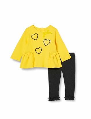 Chicco Baby Girls' Completino Felpa + Leggings Suit-Dress Set