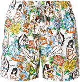 MC2 Saint Barth Gustavia Hula Hoop swim shorts - men - Polyamide/Polyester/Spandex/Elastane - XXXL