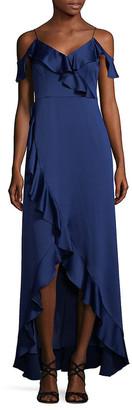 Aidan Mattox Cold Shoulder Dress