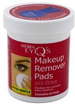 Andrea Eye Q'S 65 Count Oil Free White