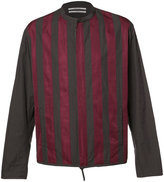 Robert Geller striped jacket - men - Cotton/Nylon/Cupro - 46