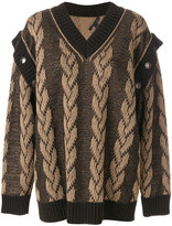 Marc Jacobs jacquard knit sweater