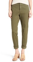 NYDJ Petite Women's Riley Stretch Twill Relaxed Trousers
