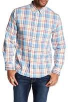Vintage 1946 Light Weight Plaid Print Flannel Shirt