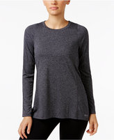 Calvin Klein Pleated-Back Striped Top