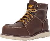 Caterpillar Men's Tradesman Steel Toe Brown Industrial and Construction Shoe